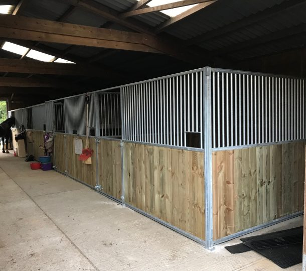 Club Range of Internal Stabling