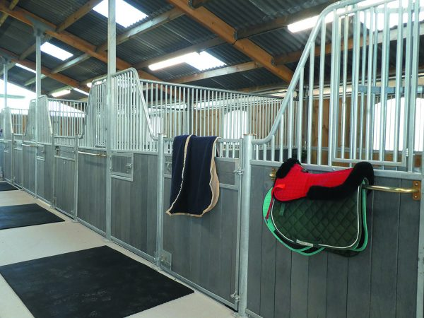 Internal Stables - Recycled Fontainebleau with Rugs
