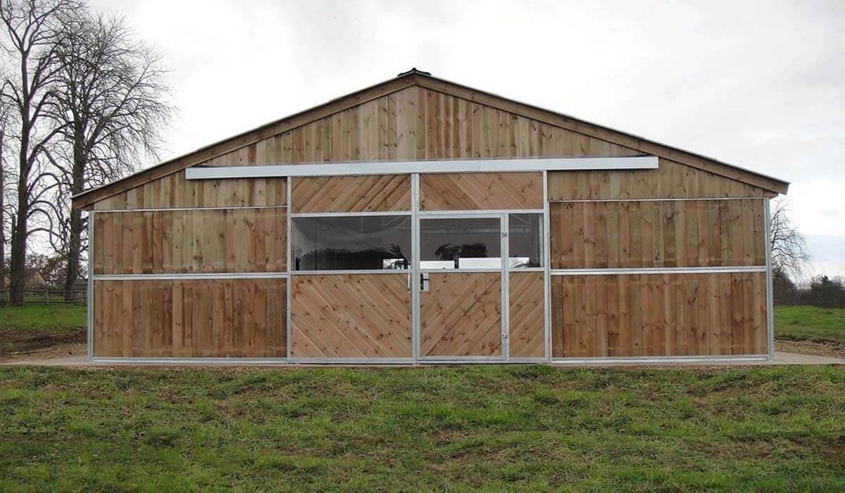 Metallic American Barns