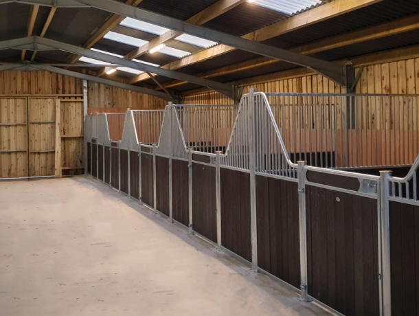 Fontainbleau Internal Stables, Brown Resin 1
