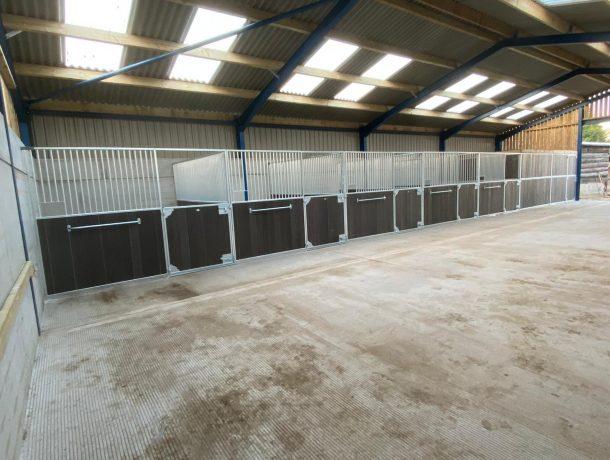 Recycled Plastic Half Door Horse Stable Fronts