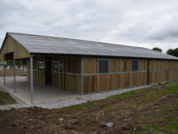 Timber American Barn