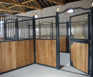 Internal Stables in Oak, Prestige range