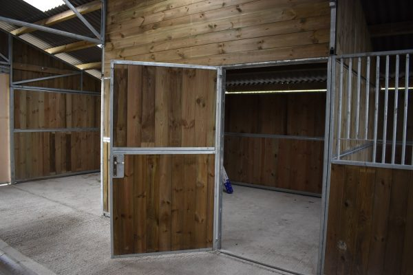 Horse Stable block internal view