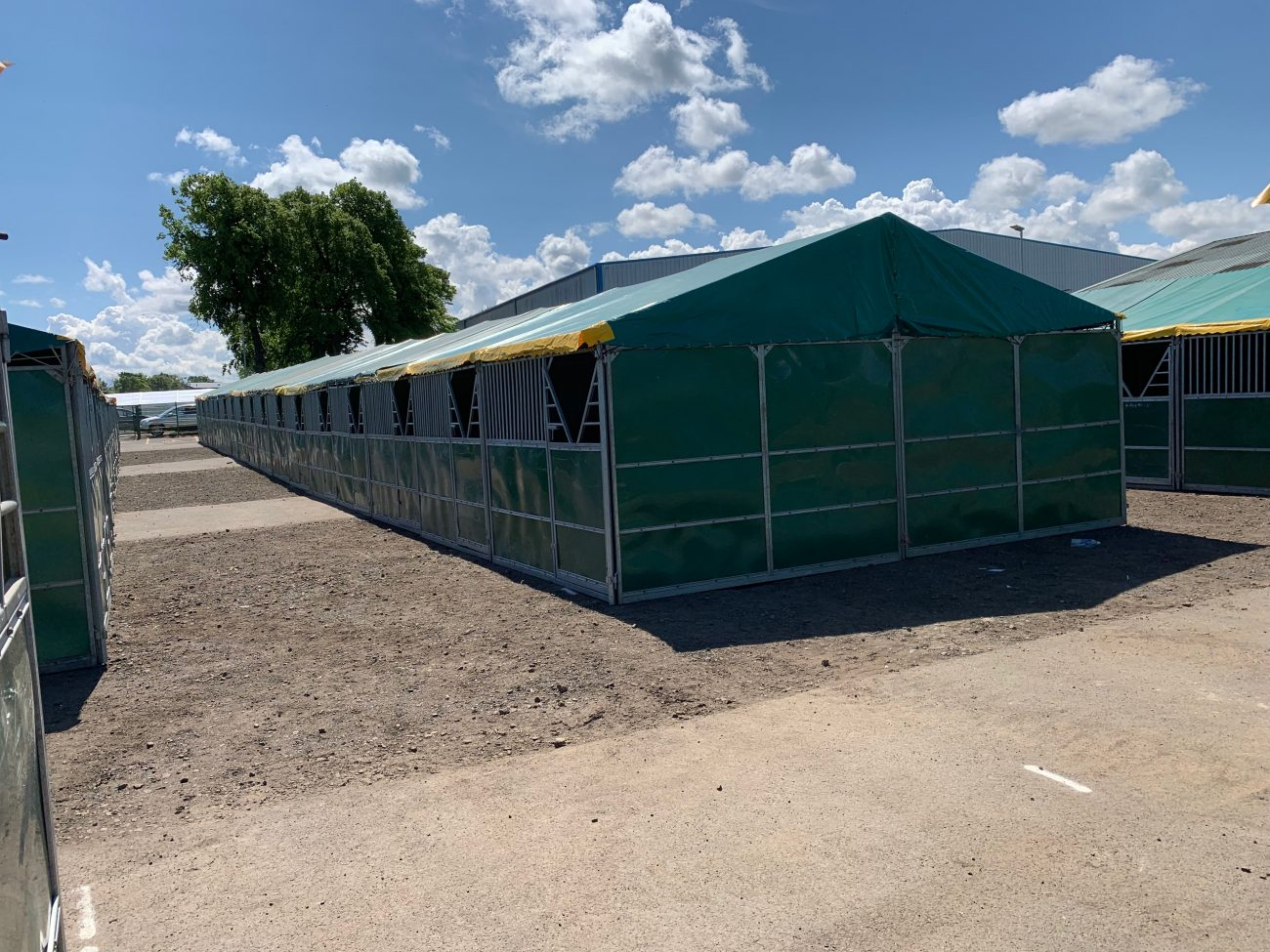 Hyppic Temporary Stabling