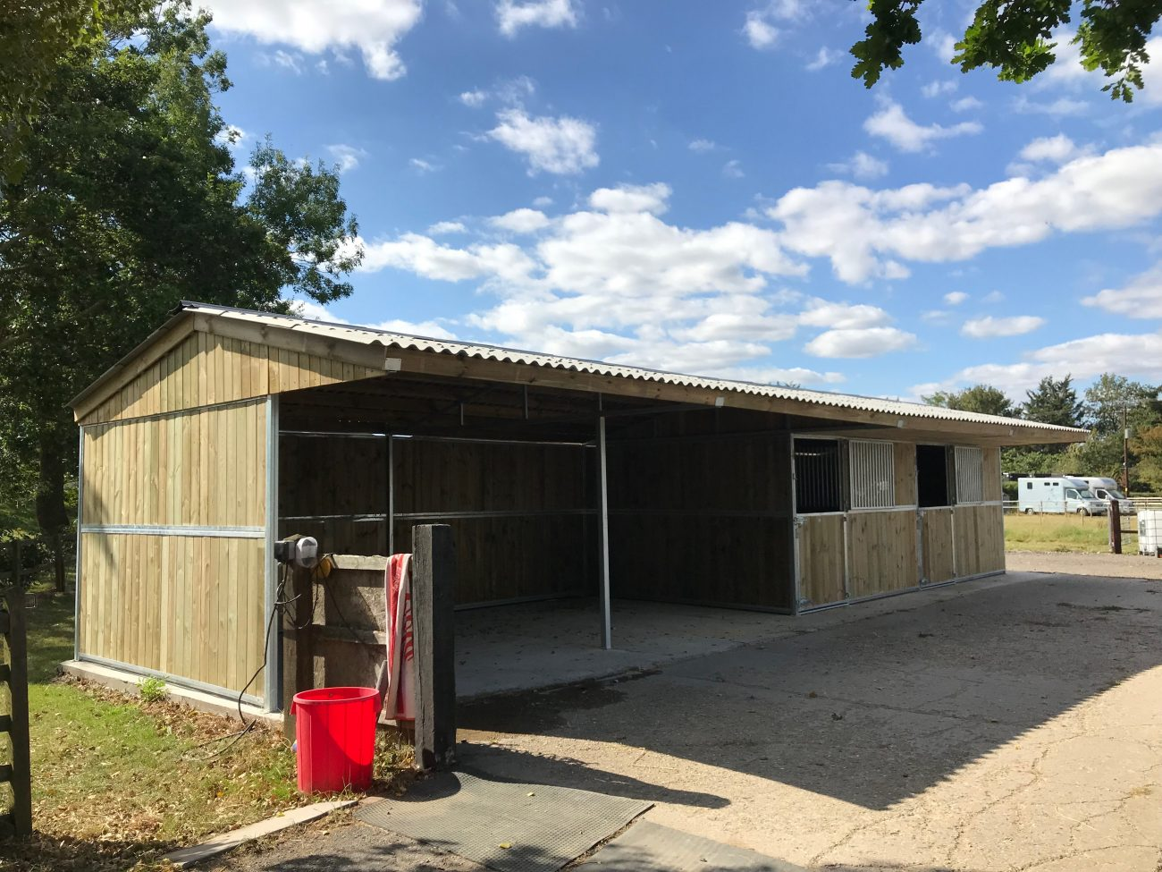 Timber Horse Stable