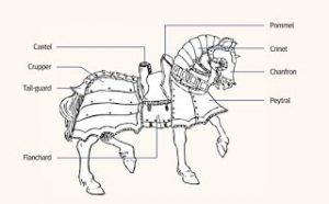 Medieval Horse Barding